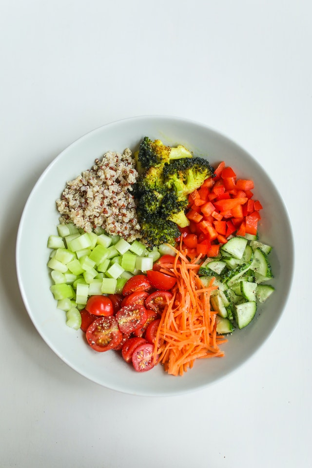 weight loss vegetable salad