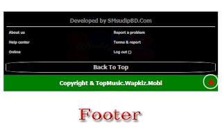TopMusic Wapkiz Theme Footer