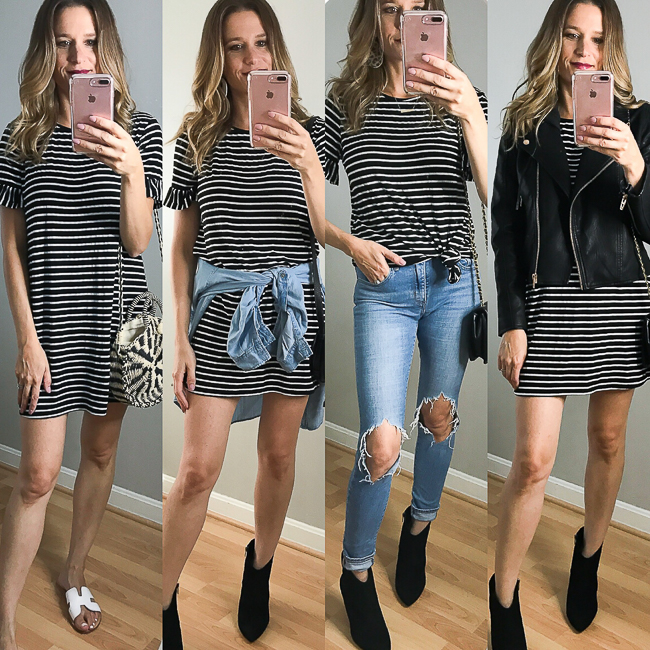 One Dress, Four Ways
