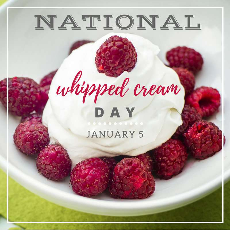 National Whipped Cream Day Wishes Unique Image