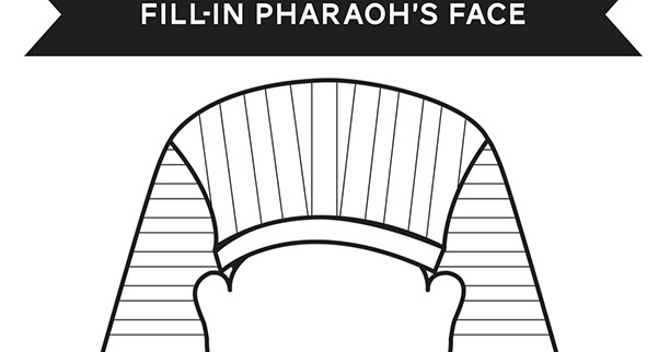 Activity Pharaoh Coloring Page