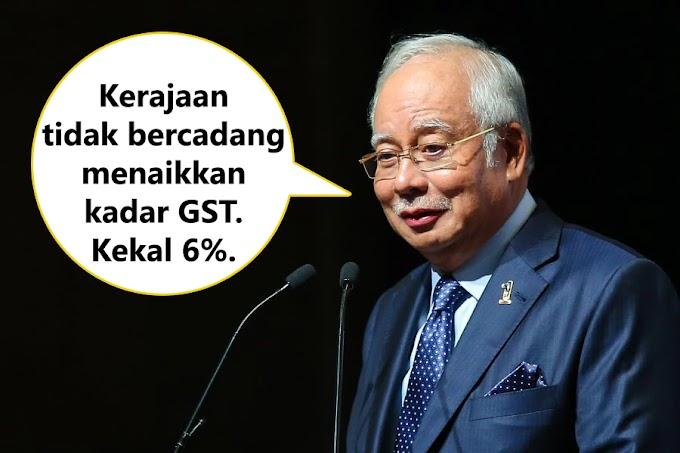 Perdana Menteri Beri Jaminan Tiada Kenaikan Kadar GST #NegarakuMalaysia @NajibRazak