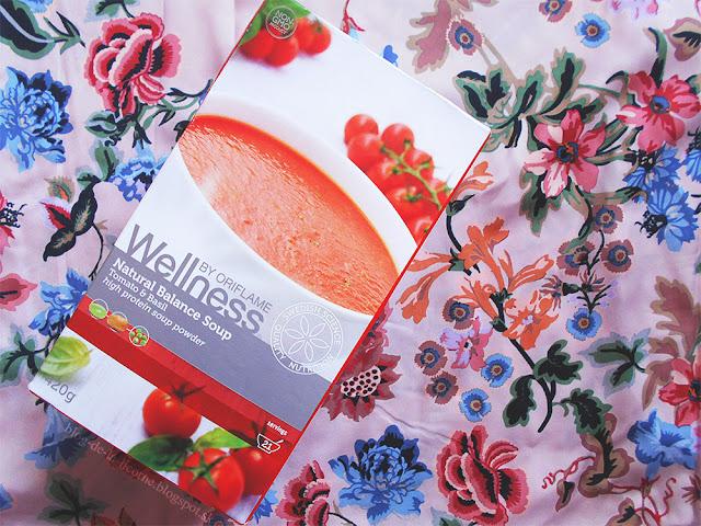 Oriflame Wellness Natural Balance Soup Tomato & Basil recenzia