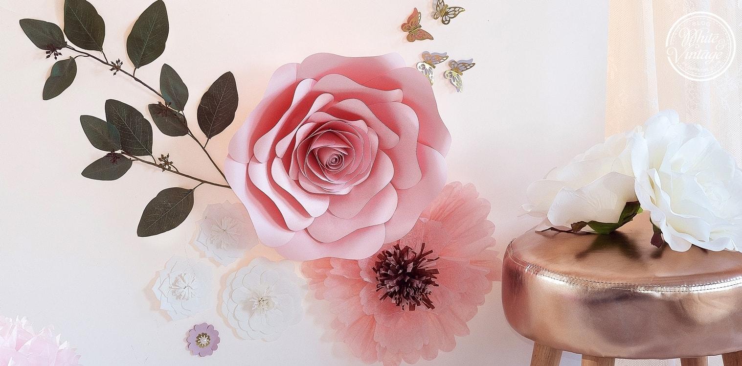 DIY Blumenwand für Hochzeit selber machen.