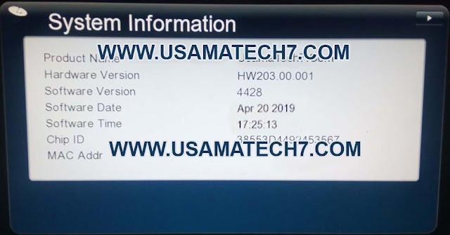 GX6605S HW203.00.001 POWERVU KEY NEW SOFTWARE SYSTEM INFORMATION