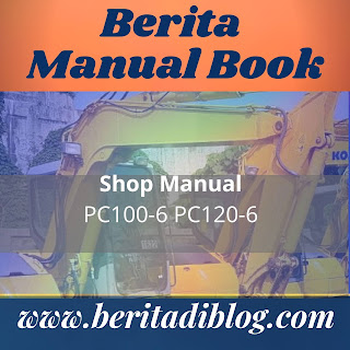 KOMATSU shop manual PC100-6 PC120-6