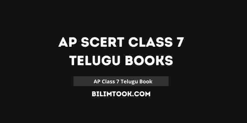 AP SCERT Class 7th Telugu Book PDF Download 2021