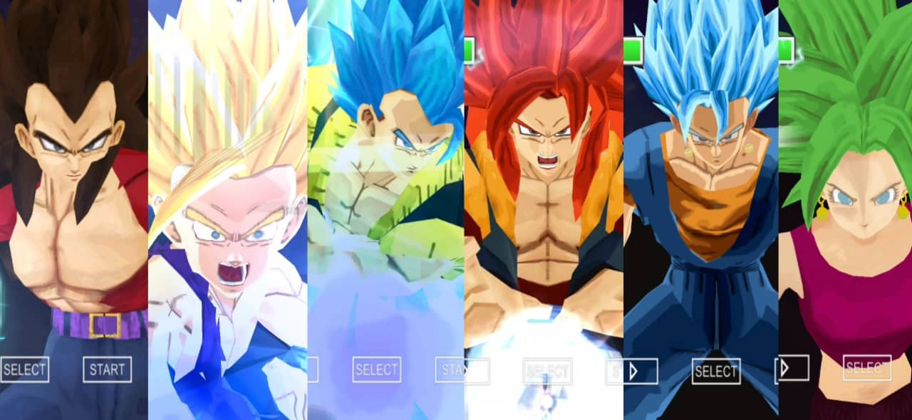 Dragon Ball Z Tenkaichi Tag Team Mod