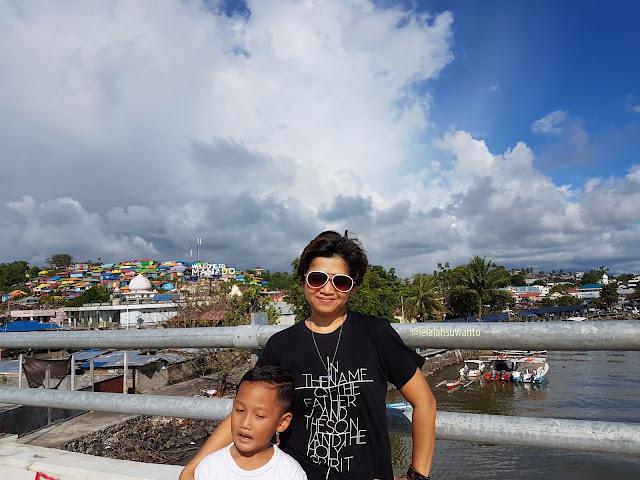 Welcome to Manado Jembatan Soekarno Kampung Warna-warni Sindulang || JelajahSuwanto