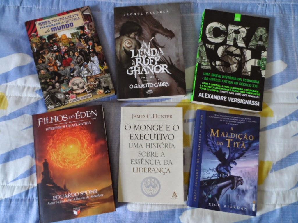 lista de livros 2015