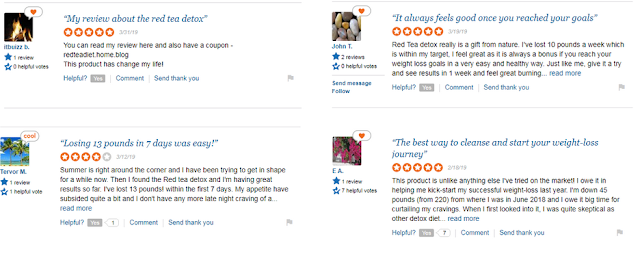 The Red Tea Detox Review: what people Says About Red Tea detox