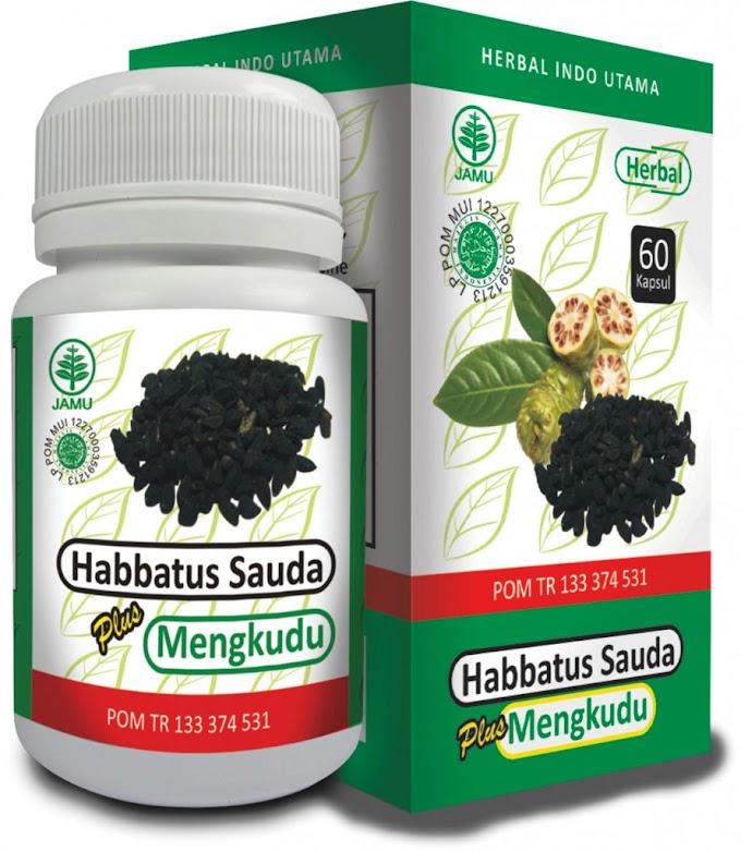 Habbatus Sauda Plus Mengkudu