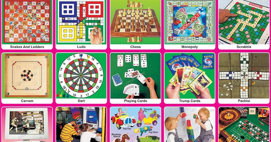 Spectrum Educational Charts: Chart 280 - Indoor Games