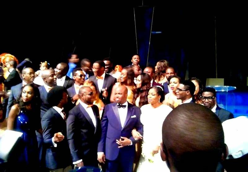 Nicelynee Blog Tz SINACH WHITE  ROYAL WEDDING