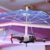 Umbrella Drone Covers You From Above