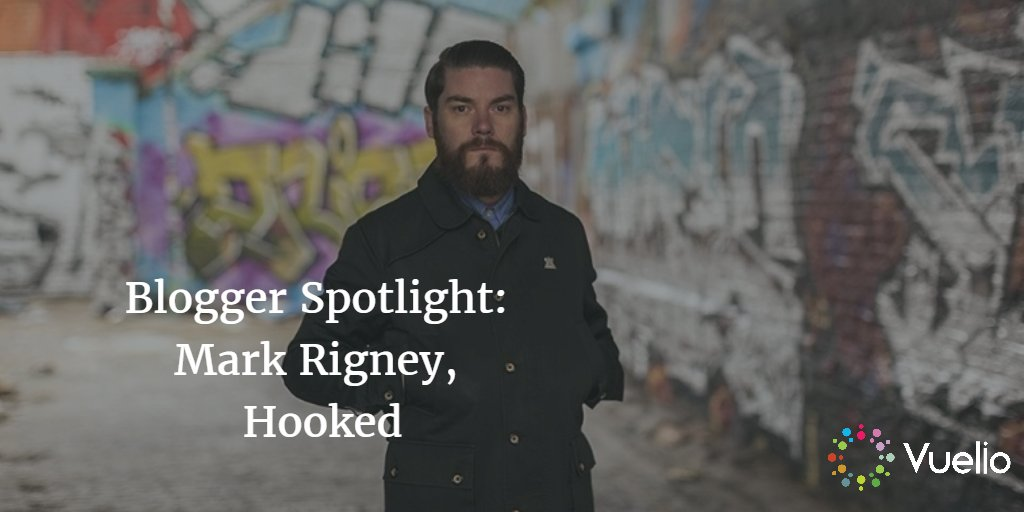Blogger Spotlight: Mark RIgney from Hookedblog