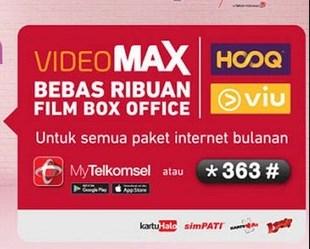 Cara Mudah Menggunakan Kuota MAXstream dan HOOQ Telkomsel