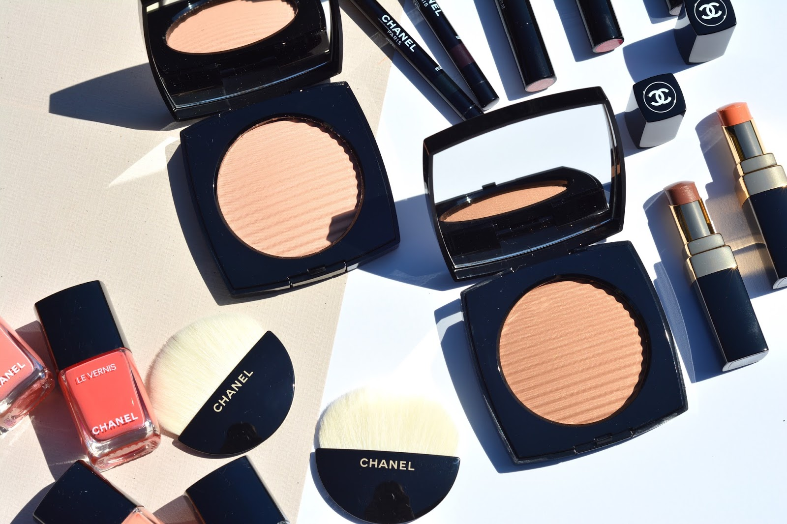 chanel summer 2017 cruise collection makeup review swatches face look