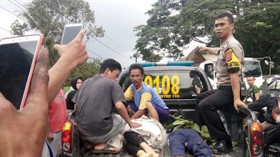 Dua Orang Meninggal Dalam Kecelakaan Di Saketi, Polisi Gercep Tangani Para Korban