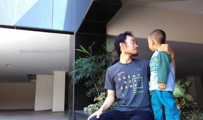 Kaos Dakwah Hadiah Suami - GREAT HUSBAND