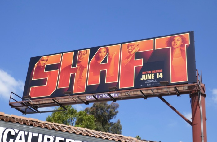 Shaft 2019 film billboard