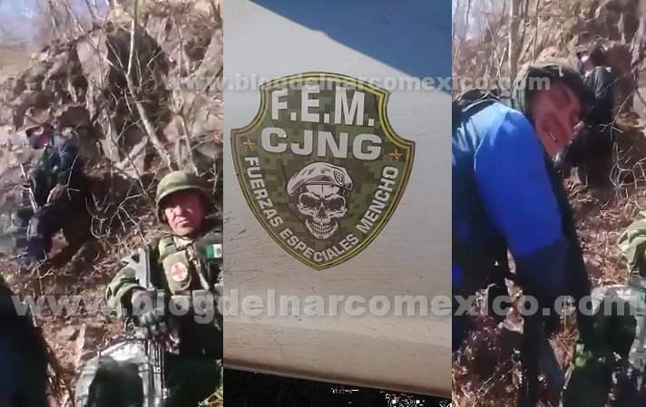 Video: Soldados acorralados por las Fuerzas Especiales de El Mencho pidieron apoyo, llego un Helicóptero Artillado y así rafagueo a los Sicarios