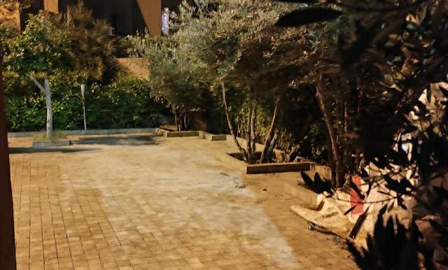 بعد توقيف عملية الحفر..السلطة تطمر بئرا بحديقة يستغلها برلماني سابق بمراكش + صورة
