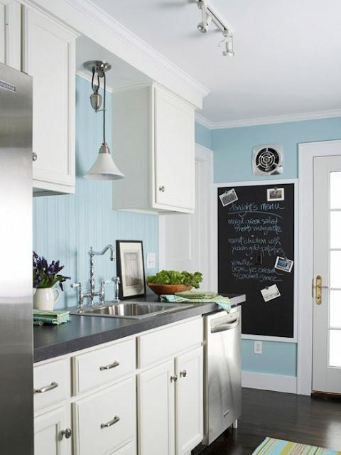Farba Tablicowa W Kuchni Na ścianie Aranżacje