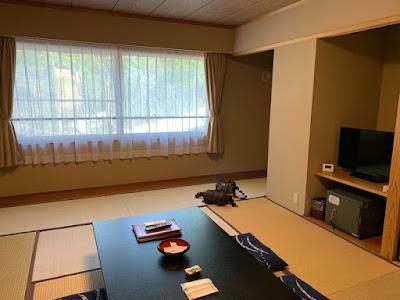 新玉川温泉のC棟客室
