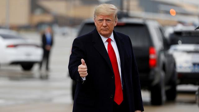 """Trump demanda que el Senado considere """"inmediatamente"""" su """"impeachment"""""""