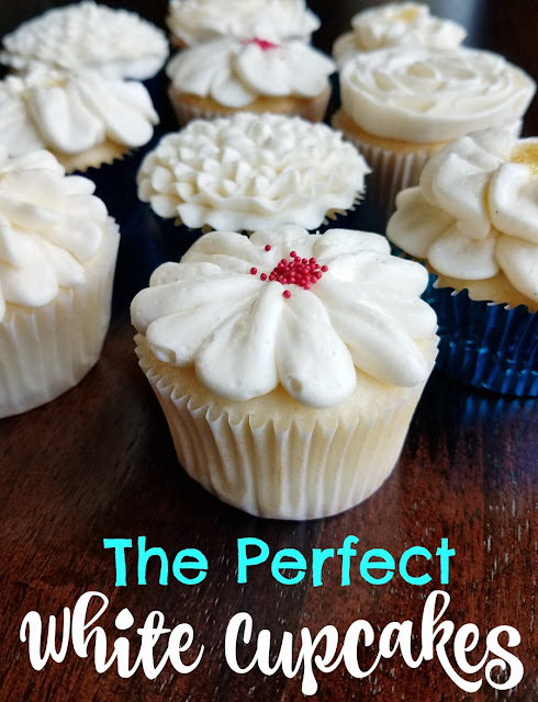 These cupcakes start with a box mix, but with a lot of twists turn into something magical. I dare say they are the best white cupcakes out there and that's really saying something coming from me!