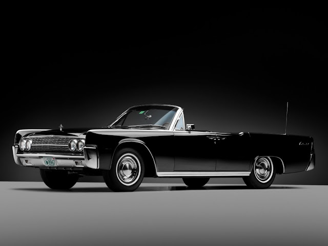 Lincoln Continental 1960s American classic car