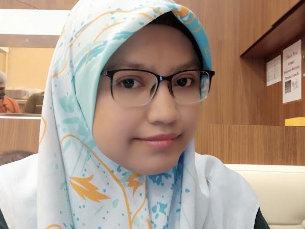Kacamata baru dari Optom Eyecare Bangi