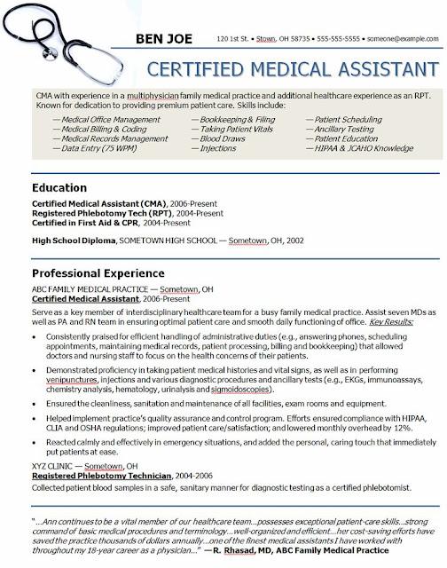 how much do registered medical assistants make medical assistant sample resume - Sample Resume For Registered Medical Assistant
