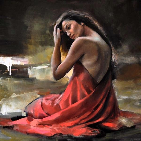 "Adorable Paintings by Polish Figurative Painter ""Emilia Wilk"""