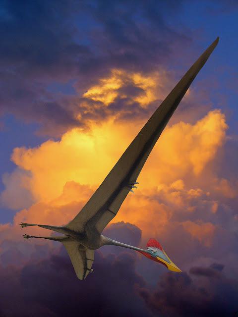 史上最大級の飛翔生物、ケツァルコアトルス!アンバラスで怖い…【n】