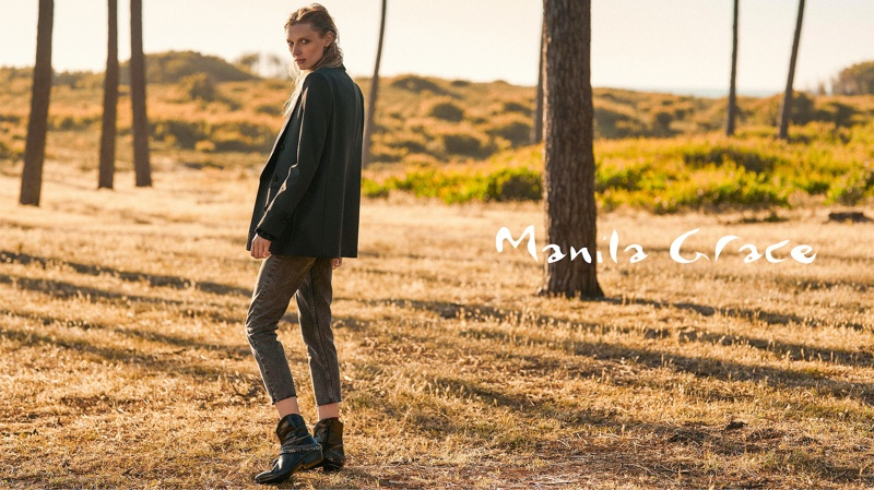 Manila Grace Fall/Winter 2019 Campaign starring Olga Sherer