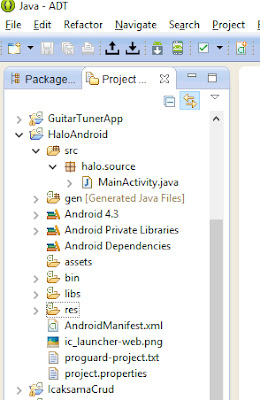Tutorial Android - Membuat Hello Android.