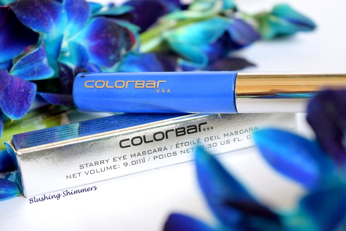 Colorbar Starry Eye Mascara : 01 Starry Blue Review