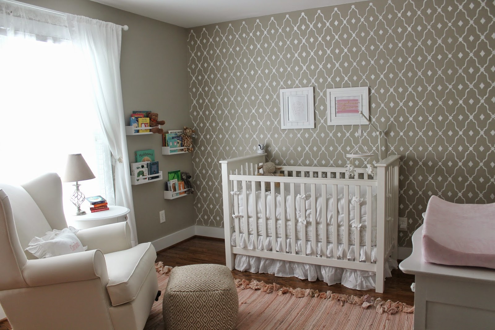 Baby Chair Rocker Console Gaming Caroline's Nursery - Carolina Charm