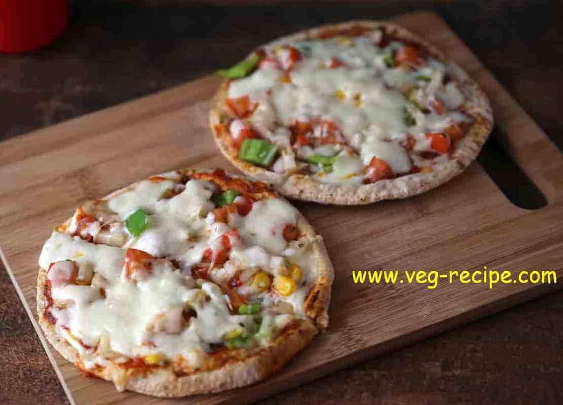 Roti PIzza Recipe