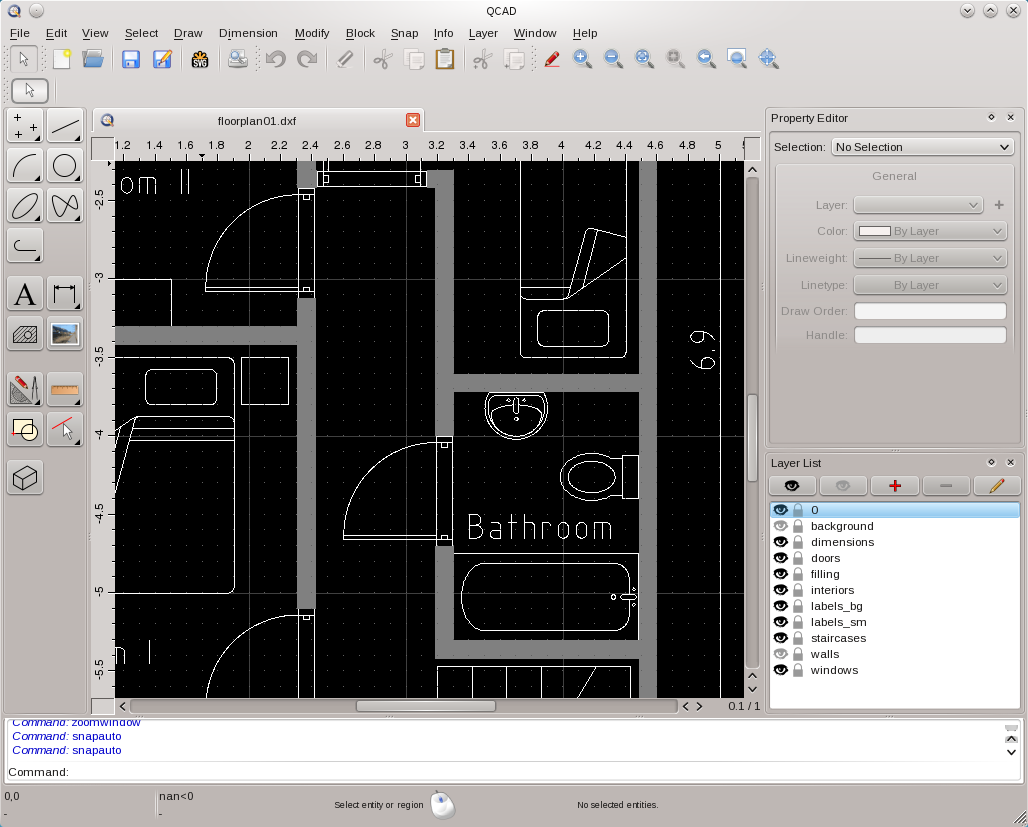 QCAD 3 6 4 Released, Install in Linux Ubuntu/Mint And Debian - The