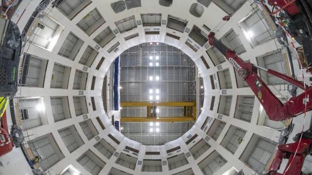 Maior reator de fusão nuclear do mundo inicia fase final de construção