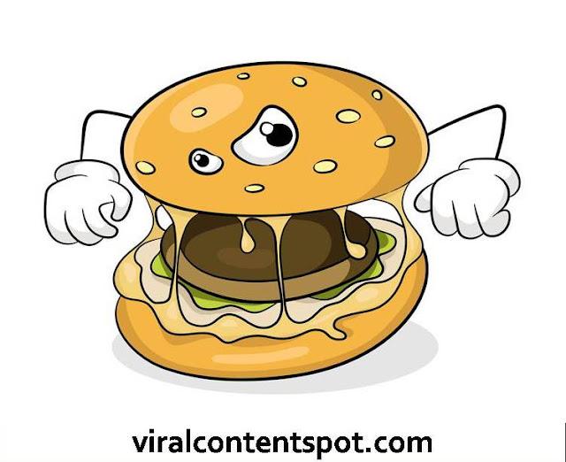 unhealthy burger