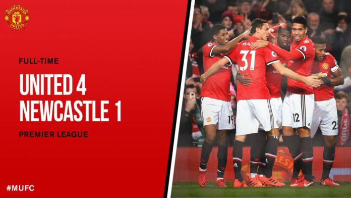 DOWNLOAD VIDEO: Manchester United vs Newcastle 4-1 – Highlights & Goals
