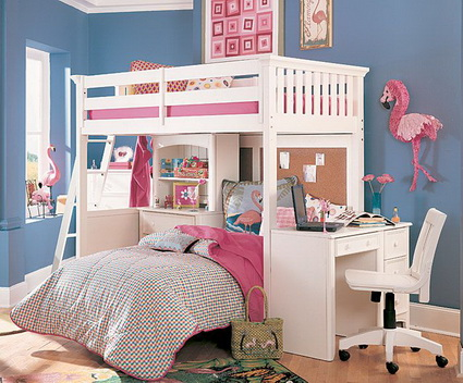 10 shared children's bedrooms with lots of color 2