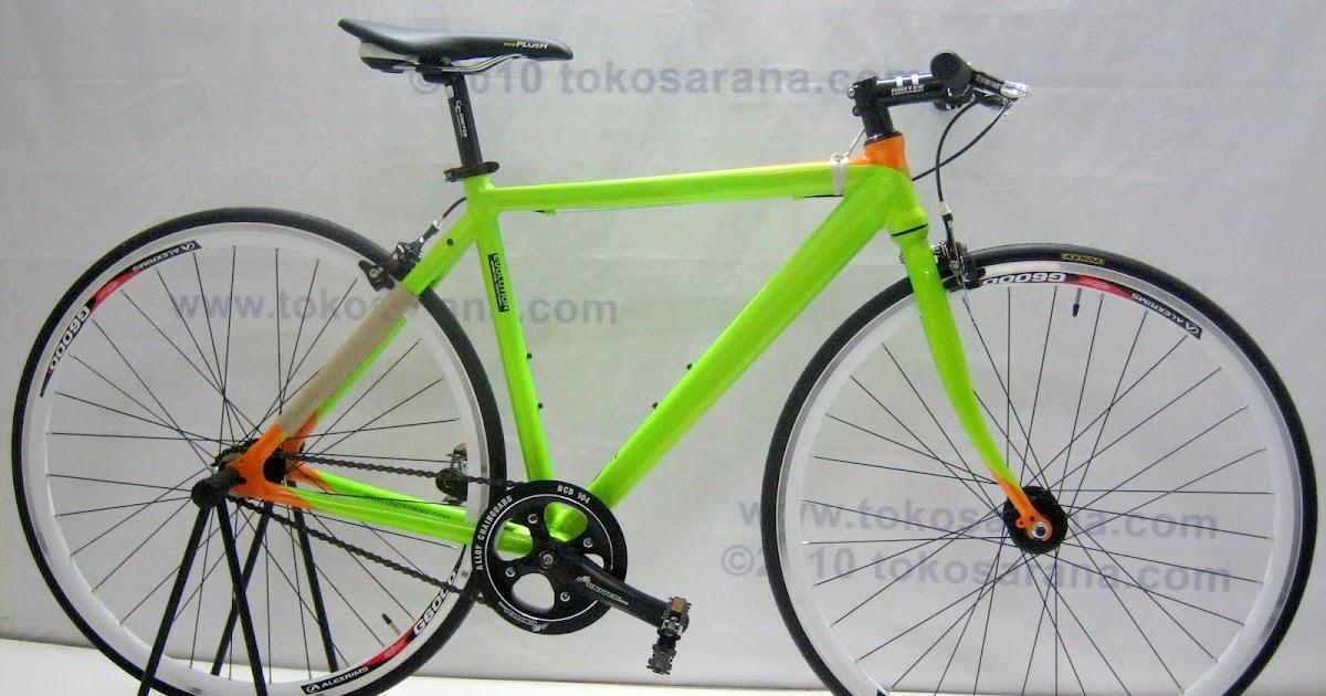 Tokosarana Mahasarana Sukses Sepeda Fixie United Evolution 700c