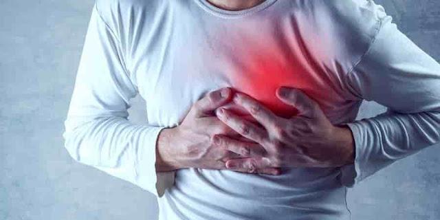 ألم في الصدر,نوبة قلبية,أسباب آلام الصدر