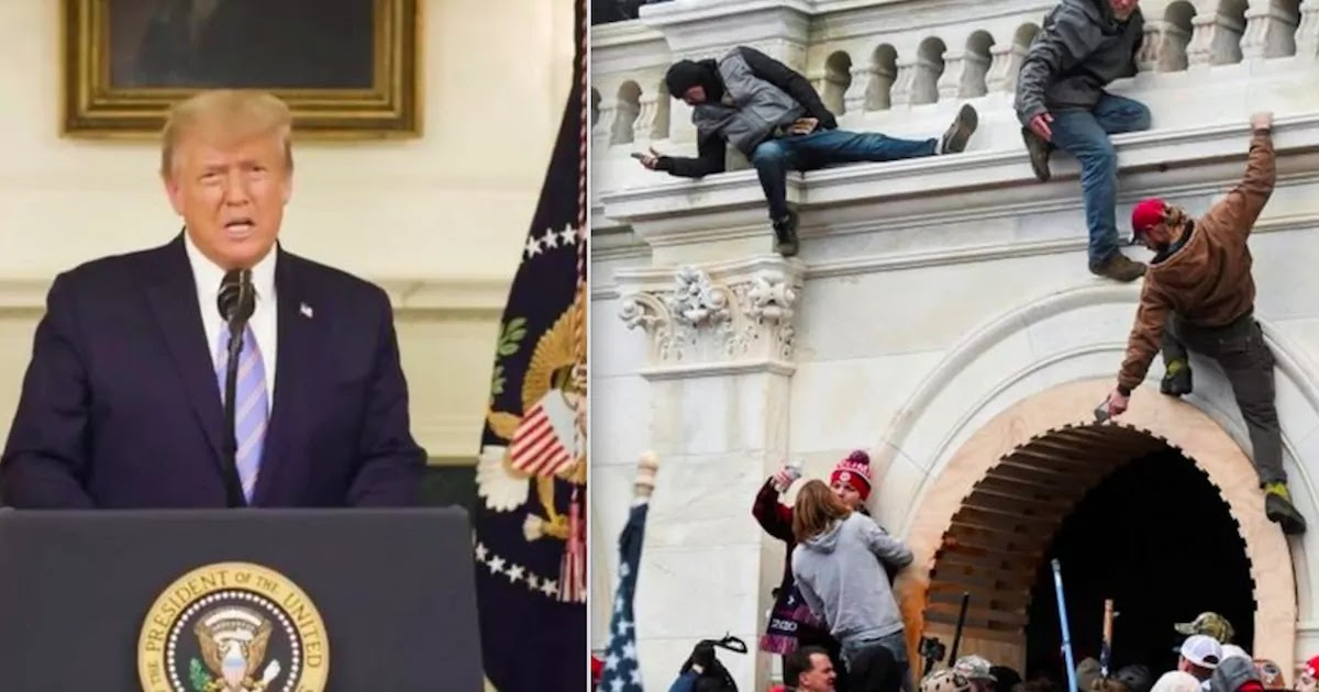 Trump Indefinitely Banned On Facebook Following Capitol Riot Where 5 People Died