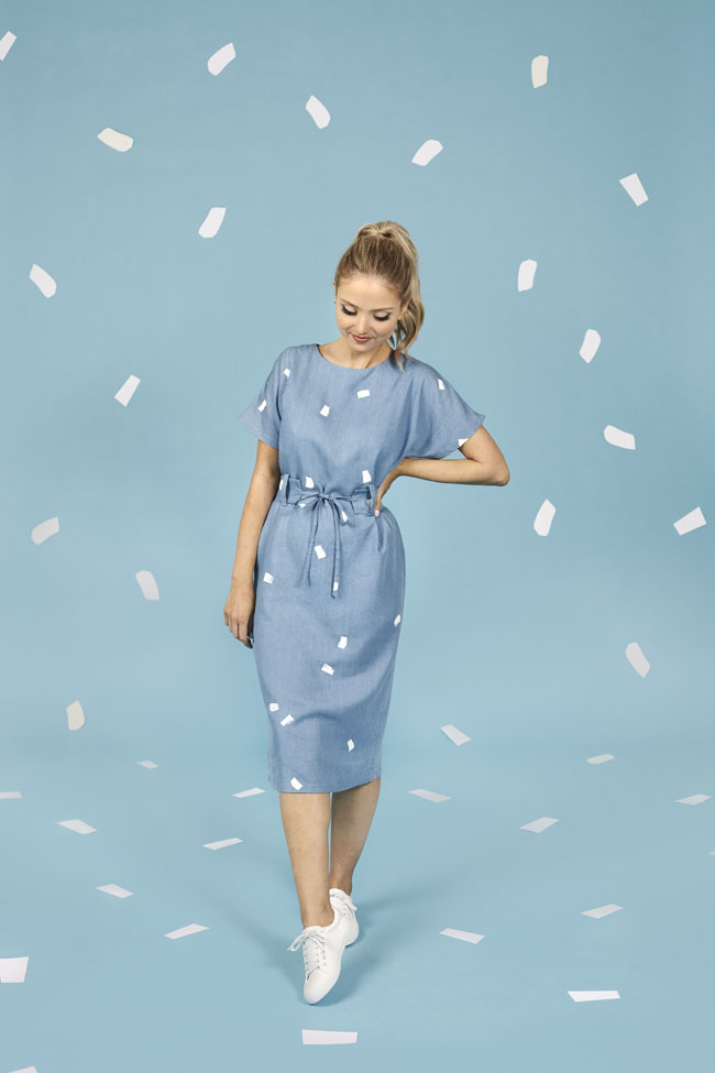 Suki dress sewing pattern - Make It Simple - Tilly and the Buttons